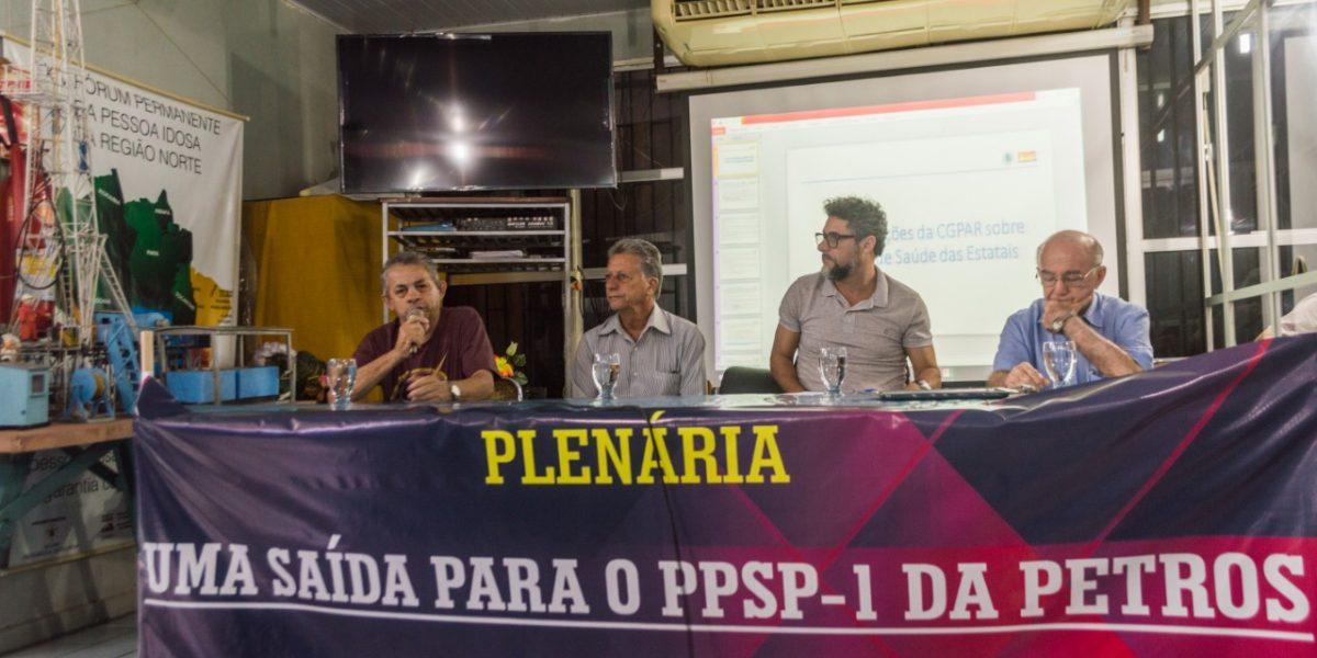 PETROS: PETROLEIROS/AS DEBATERAM SAÍDAS PARA O PLANO