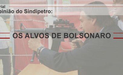 OS ALVOS DE BOLSONARO