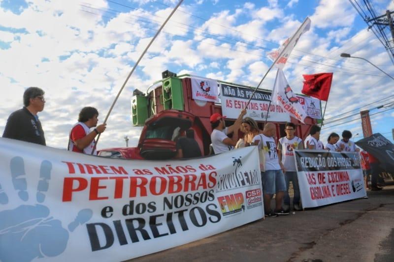 GREVE GERAL PAROU O PAÍS COM GRANDE PARTICIPAÇÃO DE PETROLEIROS/AS