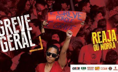 GOVERNO INIMIGO DO BRASIL: GREVE GERAL CONTRA OS ATAQUES DE BOLSONARO