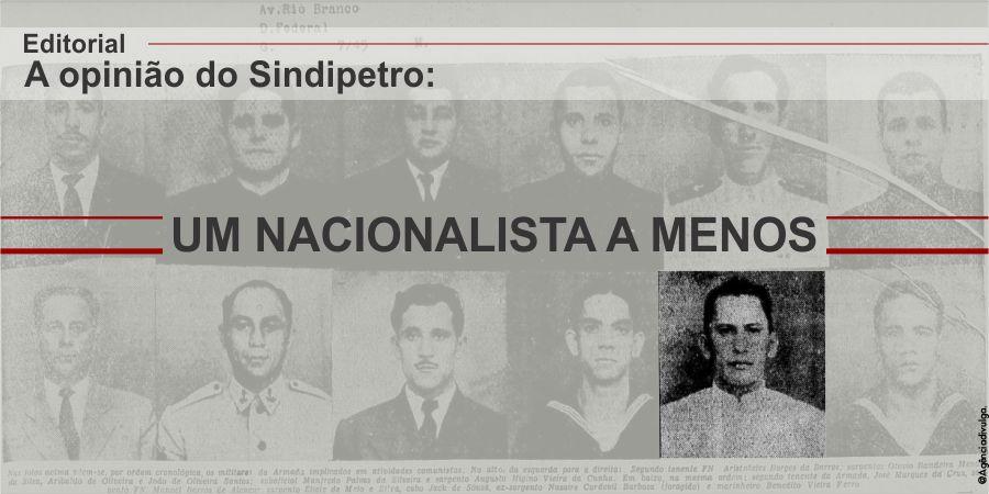 UM NACIONALISTA A MENOS