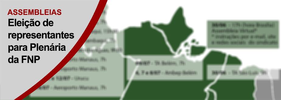 ASSEMBLEIAS DELIBERAM REPRESENTAÇÃO NA PLENÁRIA NACIONAL DA FNP